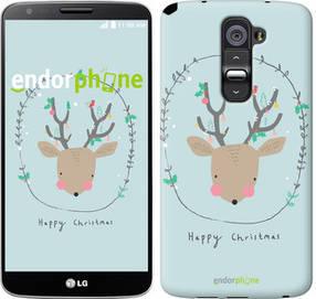 """Чехол на LG G2 Happy Christmas """"4185u-37-450"""""""