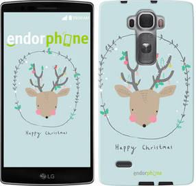 """Чехол на LG G Flex2 Happy Christmas """"4185u-287-450"""""""
