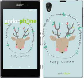 """Чехол на Sony Xperia Z1 C6902 Happy Christmas """"4185c-38-450"""""""
