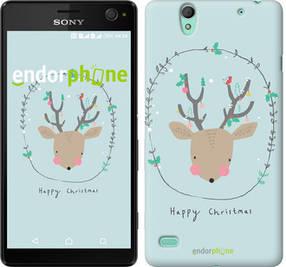 """Чехол на Sony Xperia C4 Happy Christmas """"4185c-295-450"""""""