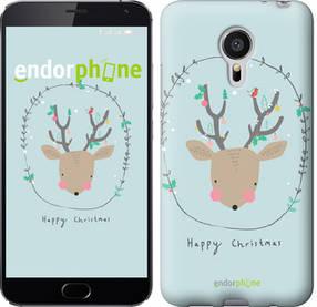 """Чехол на Meizu MX5 Happy Christmas """"4185c-105-450"""""""