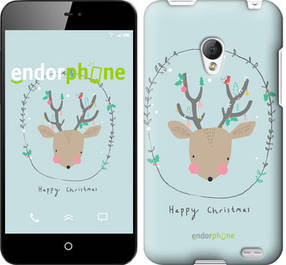 "Чехол на Meizu MX2 Happy Christmas ""4185u-239-450"""