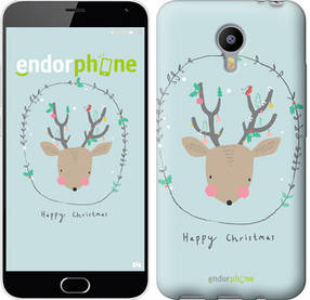 "Чехол на Meizu M2 Note Happy Christmas ""4185c-94-450"""