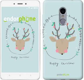 """Чехол на Xiaomi Redmi Note 4 Happy Christmas """"4185c-352-450"""""""