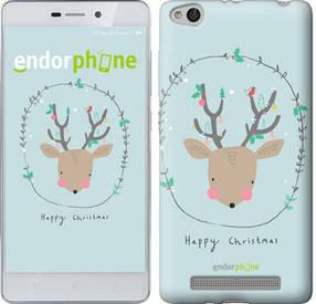 """Чехол на Xiaomi Redmi 3 Happy Christmas """"4185c-97-450"""""""