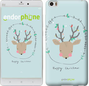 "Чехол на Xiaomi Mi Note Happy Christmas ""4185u-102-450"""