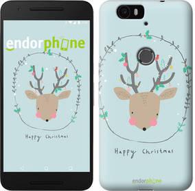 """Чехол на Huawei Nexus 6P Happy Christmas """"4185c-148-450"""""""