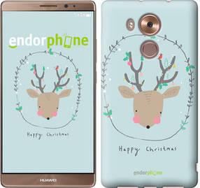 """Чехол на Huawei Mate 8 Happy Christmas """"4185u-269-450"""""""