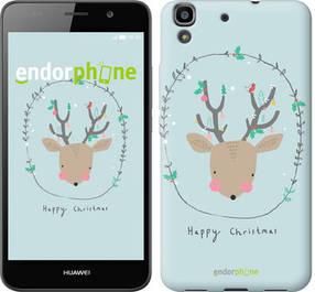"""Чехол на Huawei Y6 Happy Christmas """"4185c-333-450"""""""