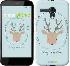 "Чехол на Motorola Moto G Happy Christmas ""4185u-366-450"""