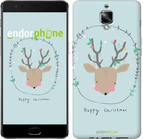 """Чехол на OnePlus 3 Happy Christmas """"4185c-334-450"""""""
