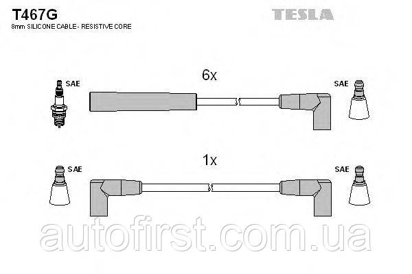 Высоковольтные провода Tesla T467G Ford