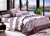 Семейный набор хлопкового постельного белья из Ранфорса №358 Черешенка™