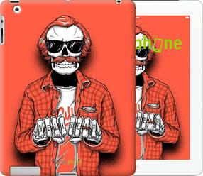 """Чехол на iPad Pro 12.9 Скелет в очках """"4192u-362-450"""""""