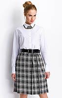 Женская юбка-клеш в клетку. Модель РC103 Sunwear, коллекция осень-зима 2015