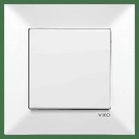 VIKO Meridian выключатель 1-клавишный белый