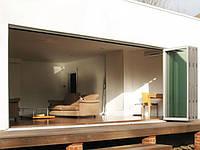 Алюминиевые двери - гармошка