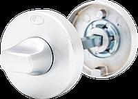 Дверные ручки CONVEX 1515 белый, Белый, Комплект: ручки + накладка для санузла