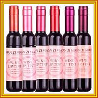 Новое Поступление: Блеск для Губ Man Zi Mao Wine Lip Tint в Форме Винных Бутылочек. Код 1608
