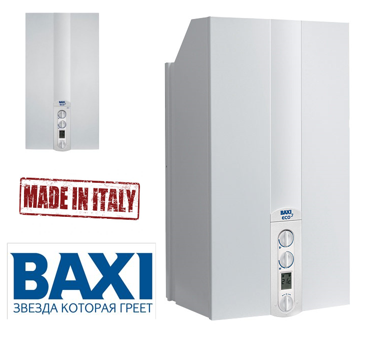 Baxi eco 3 compact 18 f for Baxi eco 3 manuale
