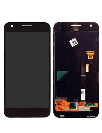 Дисплей (экран) для HTC M1 Google Pixel XL 5.5 с сенсором (тачскрином) черный, фото 2