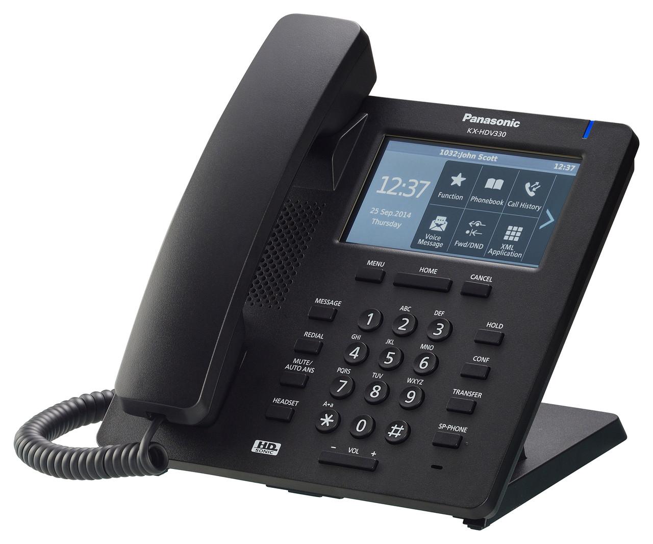 IP телефон Panasonic KX-HDV330RUB