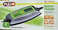 Зарядное устройство PULSO BC-10640, 6/12V, 2А/4A, 1,2-120 Ah, LCD, импульсное ( BC-10640 )