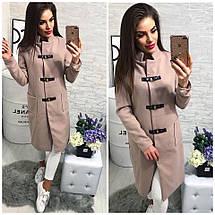 Женское кашемировое пальто на застёжках , фото 3