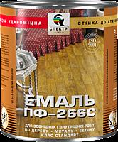 Эмаль алкидная для пола ПФ-266, 0,9 кг, красно-коричневая