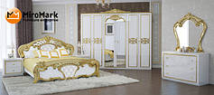 """Спальня"""" Ева"""" Глянец Белый/Золото"""