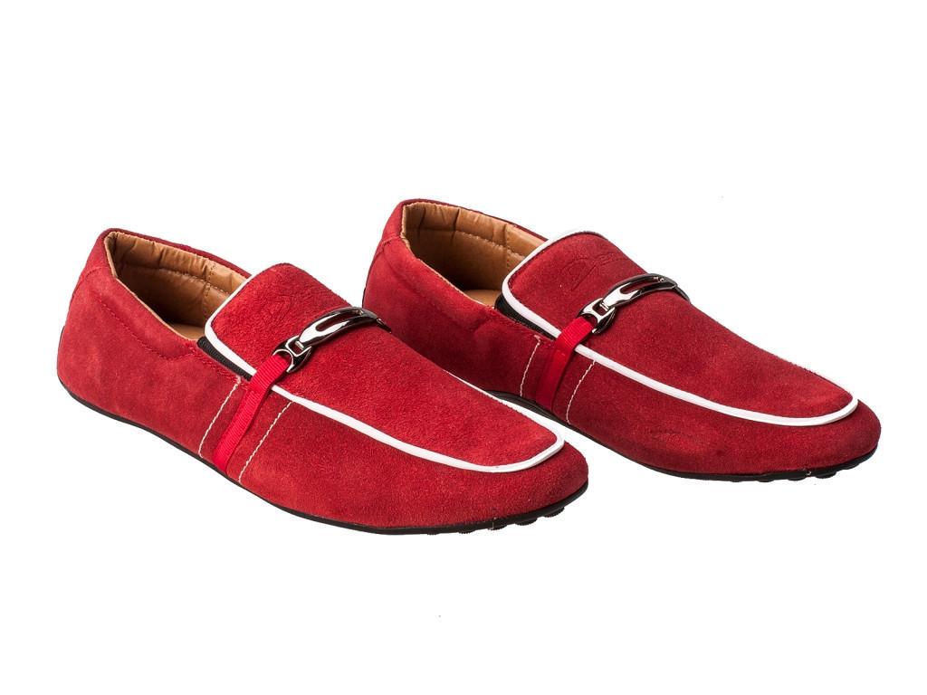 Повседневные мужские туфли натуральная замша