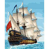 "Картина по номерам ""Королевский флот"" 40х50 см"