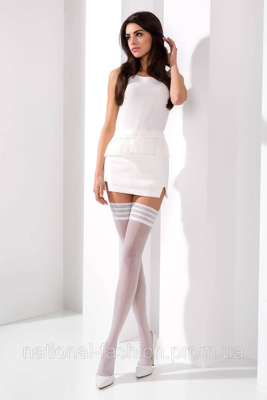 Чулки женские ST005 bianco Passion 17 den