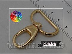 Карабин 080 золото 25mm