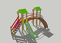 Детская игровая площадка для улицы ДИК-3