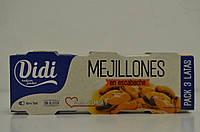 Мидии консервированные в маринаде 80 г Испания (цена за 1 шт)