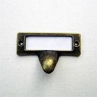 Ручка меблева 54х31 мм, фото 1