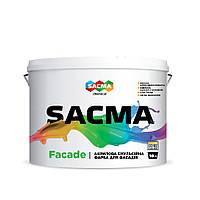 Краска фасадная для наружных работ SACMA Facade 10 л