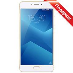 "➤Смартфон 5.5"" Meizu M5 Note M621Q, 3/32GB Gold Helio P10 ☀ камера 13 Мп автофокус 4000 mAh Android 6.0"
