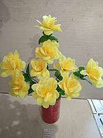 Искусственная орхидея 9 бутонов высота 52см
