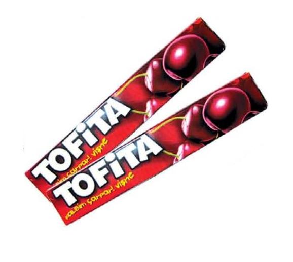 """Жевательная конфета """"Тофита"""" вишня (47 г)"""