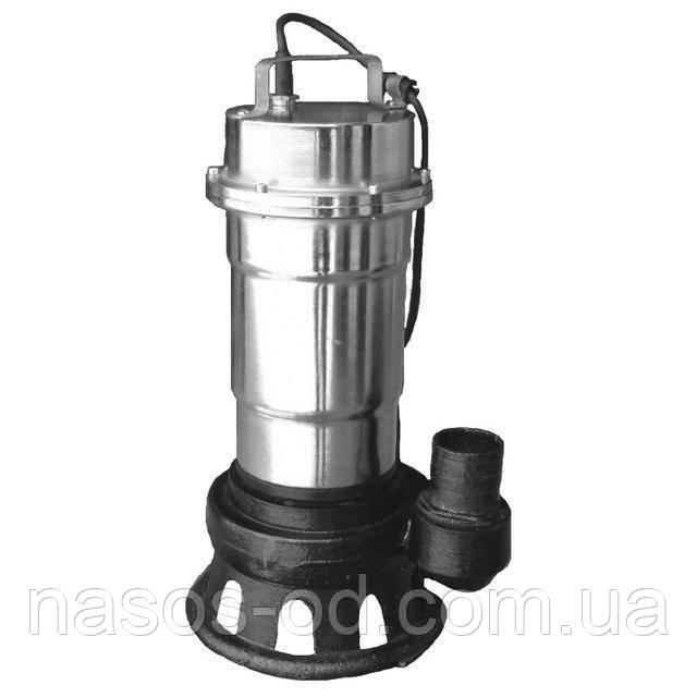 Канализационный насос фекальный Delta WQS для выгребных ям 2.5кВт Hmax12м Qmax180л/мин (нержавейка)