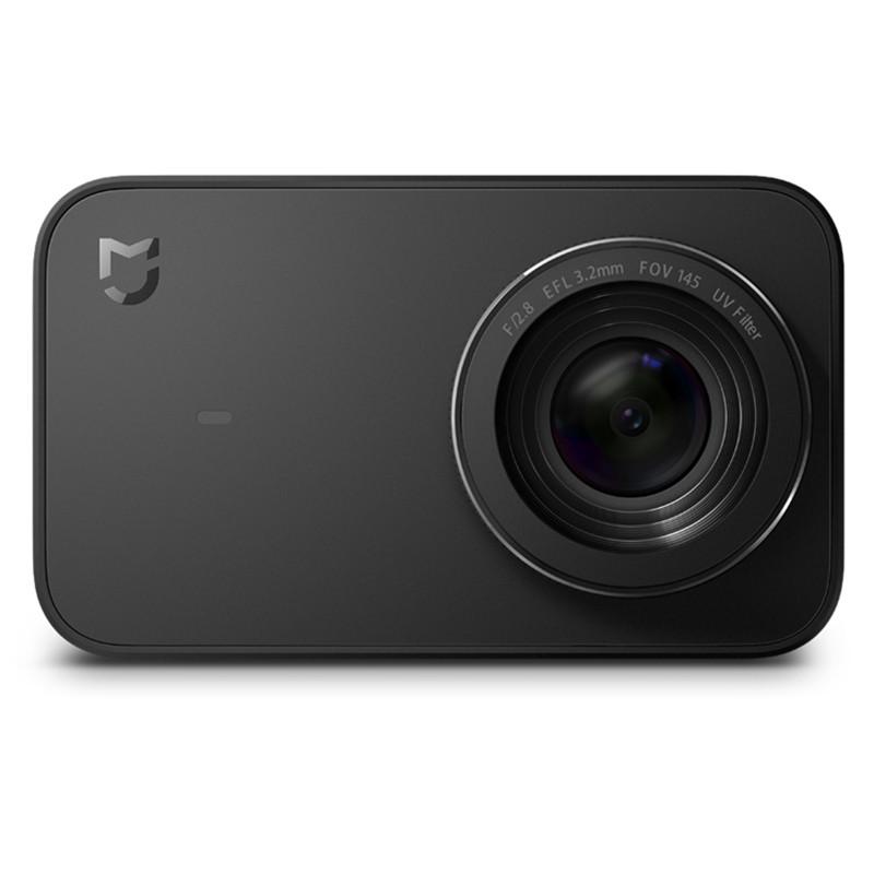 ✸Экшн-камера Xiaomi Mi Action Camera 4K (YDXJ01FM) Black экран 2.4'' Wi-Fi 2.4 Ггц Угол обзора 145 градусов  - интернет-магазин Mobiloz (Мобилоз) в Киеве
