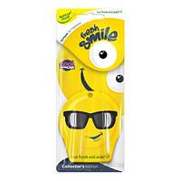 Запахи Natural Fresh Эликс FRESH SMILE New Car бумажный смайл