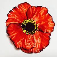 """Искусственный цветок """"Мак"""" 50 шт. в упаковке, (диаметр 130 мм) атлас"""