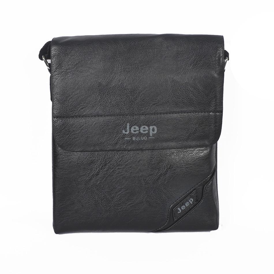 """Сумка-планшетка """"Jeep 05-3 Black"""" (размер 3)"""