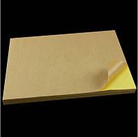 Самоклеящаяся бумага на этикетки А4 крафт