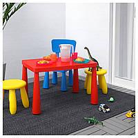 Детский стол MAMMUT красный
