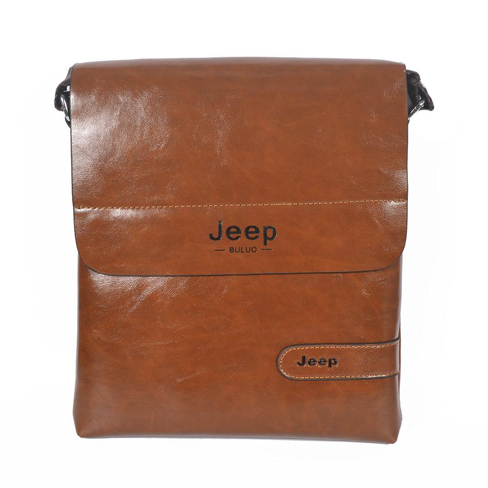 "Сумка-планшетка ""Jeep 3231-1"" Brown (размер 1)"