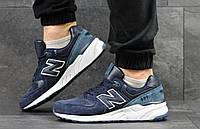 Кроссовки кросівки мужские New Balance 999 темно синий с голубым, 44